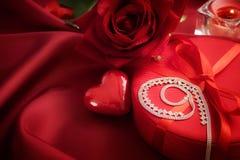 Valentine's day present Stock Image