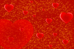Valentine's Day red background-01 Royalty Free Stock Images