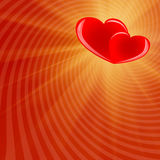 Valentine's Day red background-03 Royalty Free Stock Photo