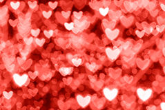Valentine's Day red background Stock Photography