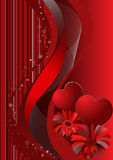 Valentine's day, red  background Stock Photo