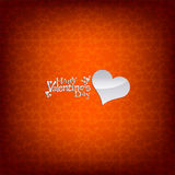 Valentine's day red card/background Royalty Free Stock Photography