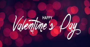 Valentine`s Day, Red Holiday Background Celebration Text royalty free stock photography