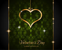 Valentine`s Day Restaurant Menu Template Background Royalty Free Stock Images