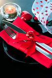 Valentine's Day romantic dinner Royalty Free Stock Image
