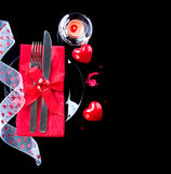 Valentine's Day romantic dinner Stock Photography