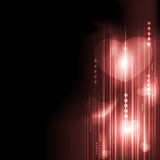 Valentine's Day romantic heart with technology.  Stock Image