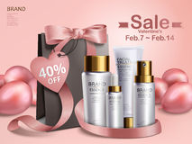 Valentine`s day sale Royalty Free Stock Images