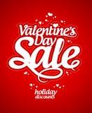 Valentine`s day sale. Stock Image