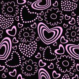Valentine's Day Seamless Background / Pattern Stock Photos