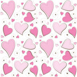 Valentine's Day Seamless Background Stock Photos