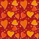Valentine's Day Seamless Background Stock Image