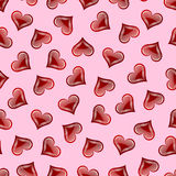 Valentine's day seamless pattern Royalty Free Stock Photo