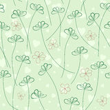 Valentine's Day Seamless Pattern Stock Photography