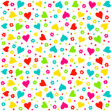 Valentine's day seamless, pattern Stock Photography