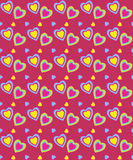 Valentine's day seamless, pattern Stock Images