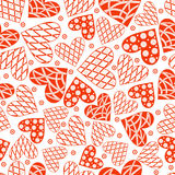 Valentine's day seamless,pattern. Stock Images