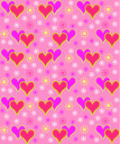 Valentine's day seamless, pattern Royalty Free Stock Photos