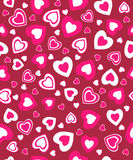 Valentine's day seamless, pattern Royalty Free Stock Image