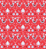 Valentine's day seamless pattern Royalty Free Stock Photography