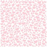 Valentine`s day seamless patterns. Endless pink backgrounds with hearts on a white background. Vector illustrated Valentines day patterns. Cute tile wedding vector illustration