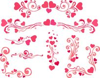 Valentines day set Royalty Free Stock Image