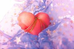 Valentine's Day Shiny Background Stock Photography
