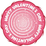 Valentine's Day sign Royalty Free Stock Photo