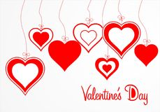 Valentine's Day. St Valentine's Day vector Royalty Free Stock Image