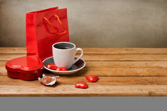 Valentine's Day still life Stock Photography
