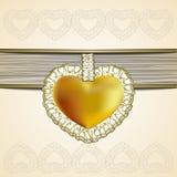 Valentine`s Day Symbol on a light background royalty free stock photo