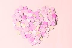 Valentine`s Day. Symbol of love royalty free stock photos