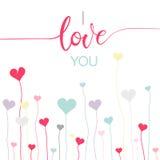 Valentine`s day symbols Royalty Free Stock Photography