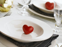 Valentine's Day Table Stock Images