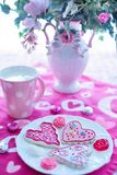 Valentine'S Day, Valentine Cookies Royalty Free Stock Photos