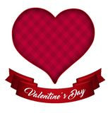 Valentine`s Day Valentines hearts. 3D stock illustration