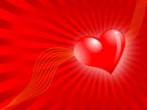 The Valentine's day, vector abstract background stock photos