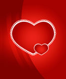 Valentine's day vector background Stock Images