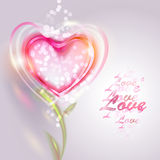 Valentine's day vector background Royalty Free Stock Images