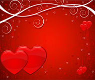 Valentine's day vector background Stock Photos