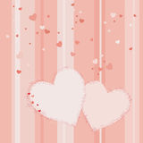 Valentine's day vector background Royalty Free Stock Photo