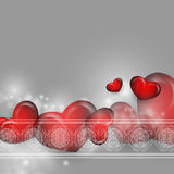 Valentine's Day vector background Stock Image
