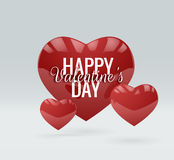 Valentine`s Day vector background. EPS10. Royalty Free Stock Photo