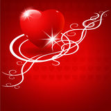 Valentine's Day vector background. Royalty Free Stock Images