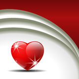 Valentine's Day vector background. Stock Photos