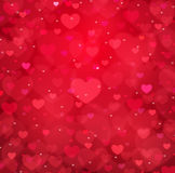 Valentine's day vector background Stock Photo