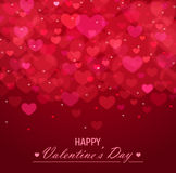 Valentine`s day vector background Royalty Free Stock Photography