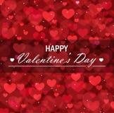 Valentine`s day vector background Stock Photo