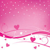 Valentine's Day Vector Grunge Background Royalty Free Stock Image
