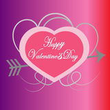 Valentine's day vector Royalty Free Stock Images